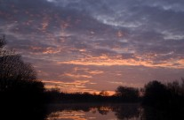 Sunrise on River Frome