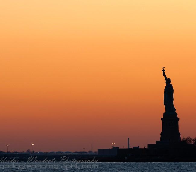 Liberty at Dusk