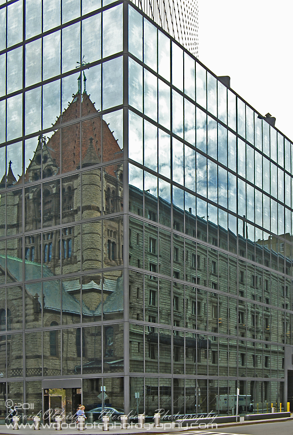 Reflections of old in new – Boston