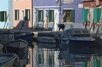 """Street scene"" on Island of Burano"