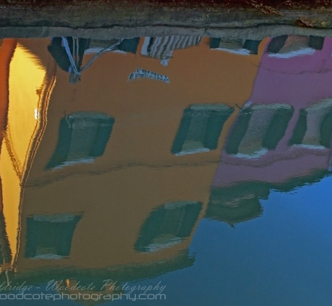 Reflection. Burano