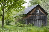 Traditional rustic barn in Cornwall, Connecticut