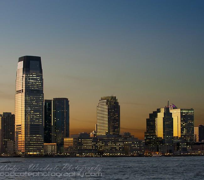 Jersey City at Dusk