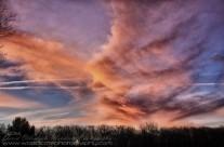 Fiery Blaze of Morning Sky