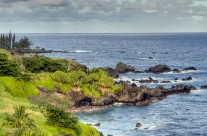 East shore of Maui