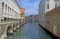 Approaching the Grand Canal, Venice