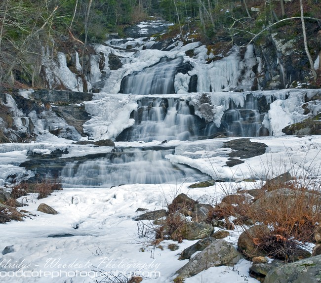 Kent Falls in the freeze