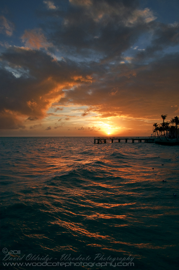 Sunset from the Southern tip of Key West