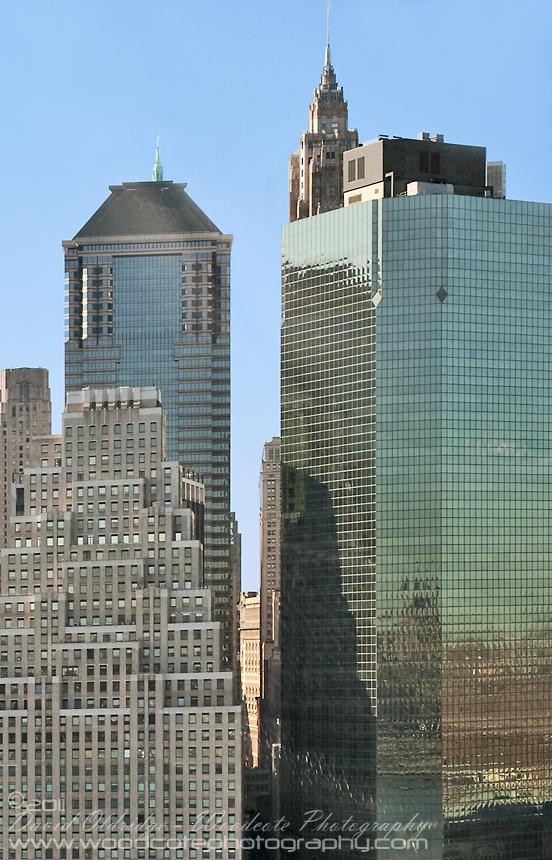 Descending into heliport near Wall Street