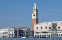Outside of St Mark's Square, Venice