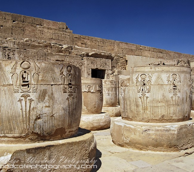 Habu Temple, Egypt