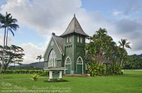 Traditional Hawaiian church