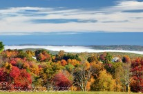 Autumn Morning Mist in the Connecticut River Valley