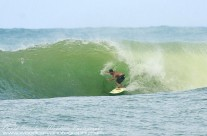 Riding the Tube – location not to be disclosed – East shore of Maui