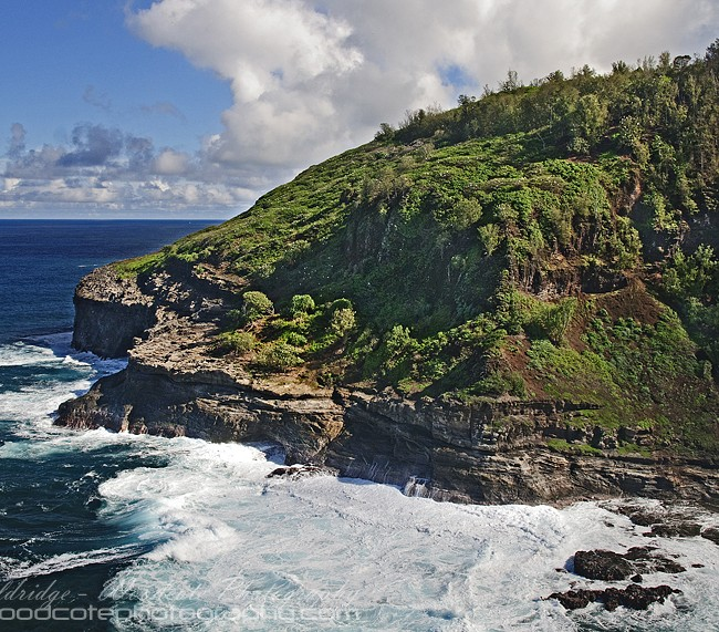 Looking East from Kilauea Lighthouse on Kauai