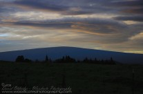 Sunset over Mauna Loa