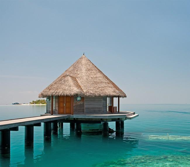Entrance to Ithaa Underwater Restaurant, off Rangali Island