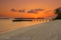 Sunrise  – Rangali Island, Maldives