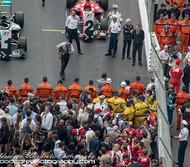 Top three – Monaco F1 GP 2015