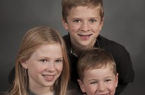Christopher, Maddie and Sean