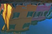 Reflection. Burano