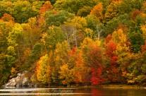 Nepaug Reservoir in the Fall