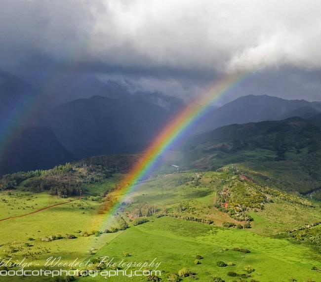 Double Rainbow over Kauai